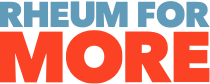 Rheum for More Logo
